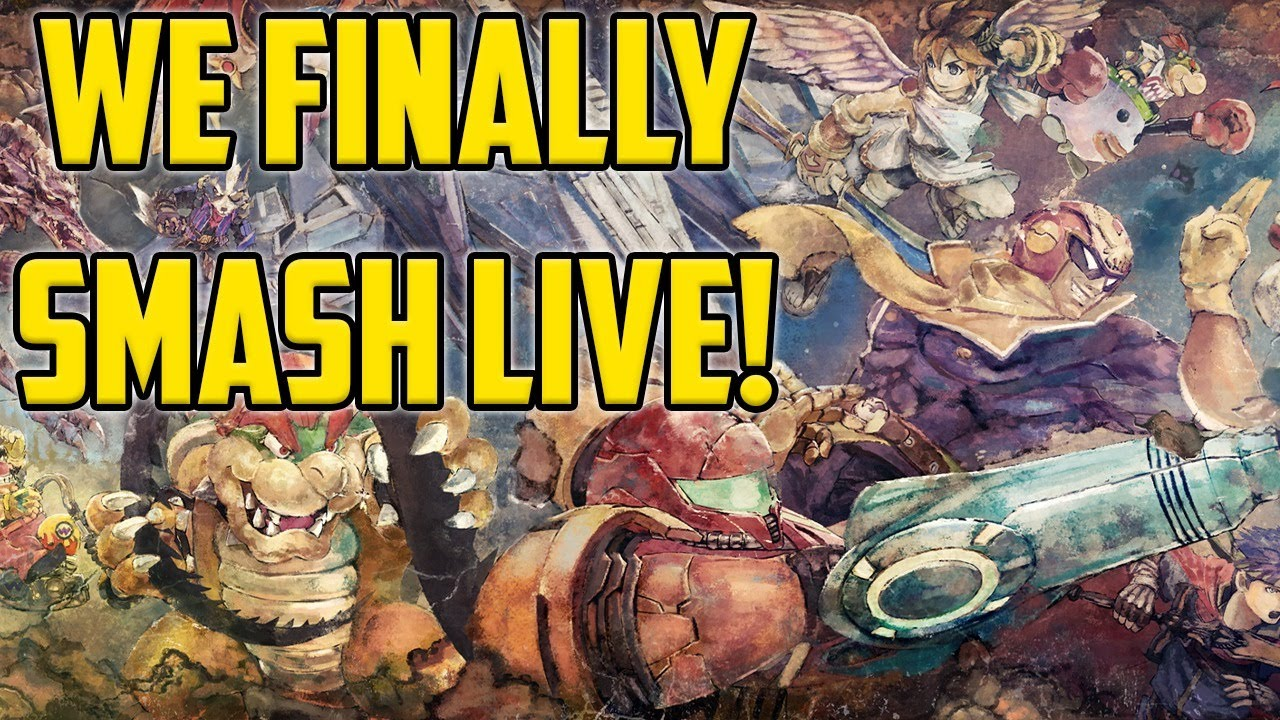 We Are Going To Smash Bros In An Ultimate Way - Super Smash Bros Ultimate Live