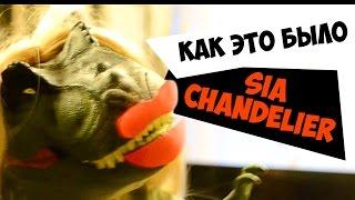 Как снимали клип Sia – Chandelier 💃🏼