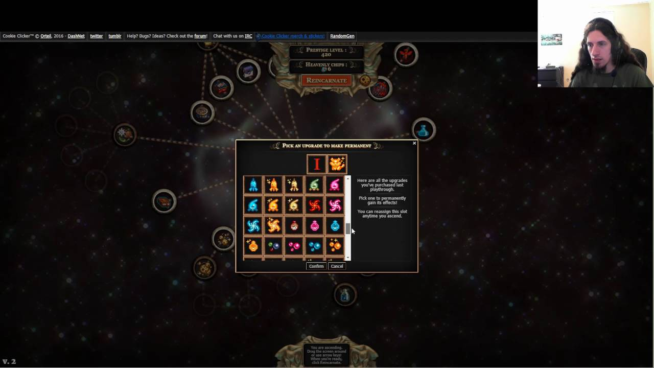 Asention - Cookie Clicker #2