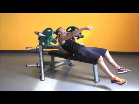 Steelflex Bench Press Machine (PLBP) | Fitness Direct