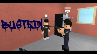 BUSTED! - Roblox Hoodblock Roleplay