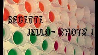 JellO-shots: la recette  (with English subtitles)