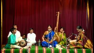 Sarasijanabha - Khambhoji Ata Varnam: Mridangam by Rohit Ashok, disciple of Sri K.S. Kalidas