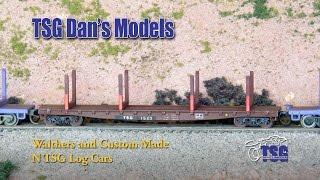 trains #NScale Dan shows off more of his TSG Railroad custom-painte...
