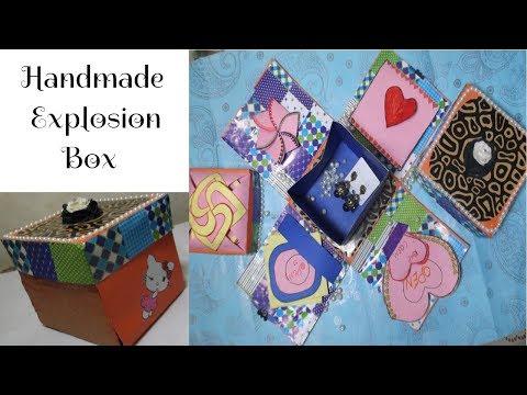 Gift Idea || Explosion Box || Surprize Box || Birthday Box For Friend || Handmade