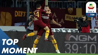 Džeko continues his upturn in form as Roma made it four straight wins | Empoli 0-2 Roma | Serie A