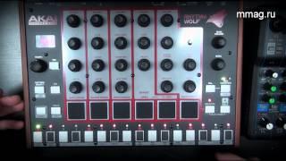 mmag.ru: Akai Rhythm Wolf - Аналоговый барабанный и басовый синтезаторный модуль