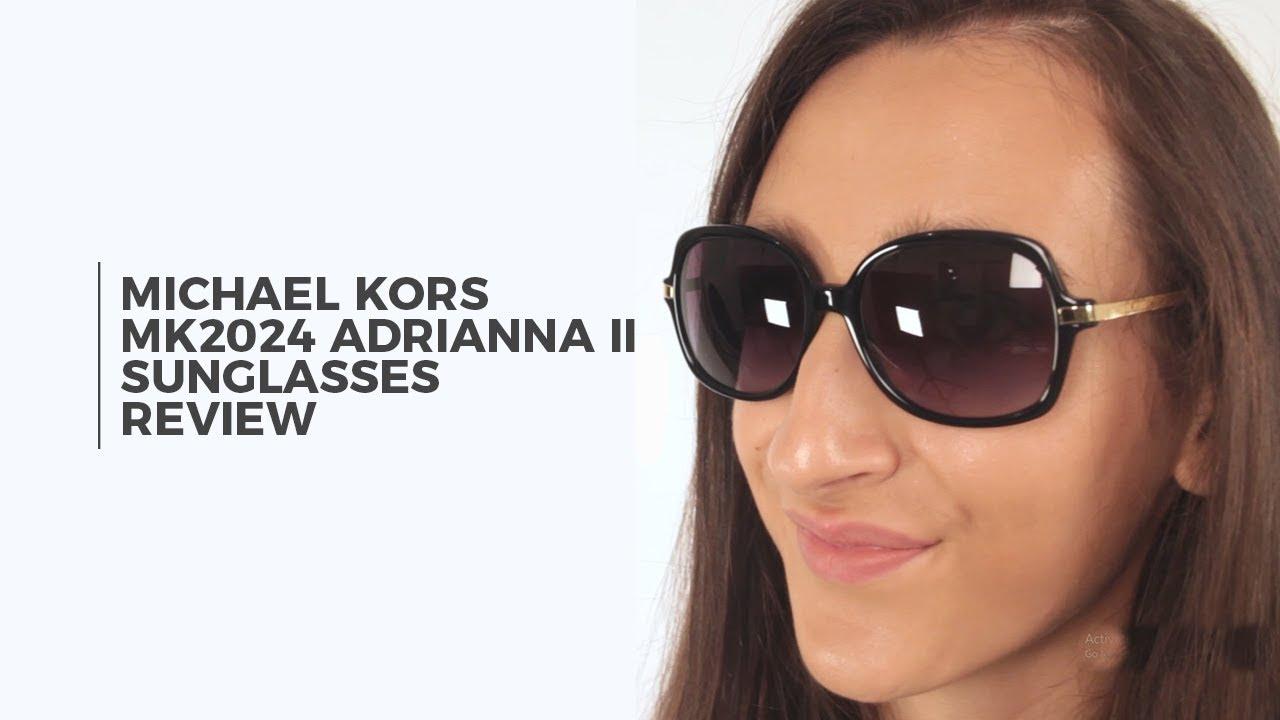 644876f6643 Michael Kors MK2024 ADRIANNA II Sunglasses Review