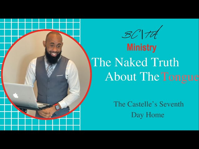 The Naked Truth About The Tongue
