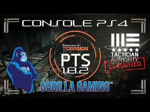 [The Division] 🦍Gorilla Gaming™|🏴 PTS 1.8.2 Console | 6 pc. Tact 🏴 | 🦍