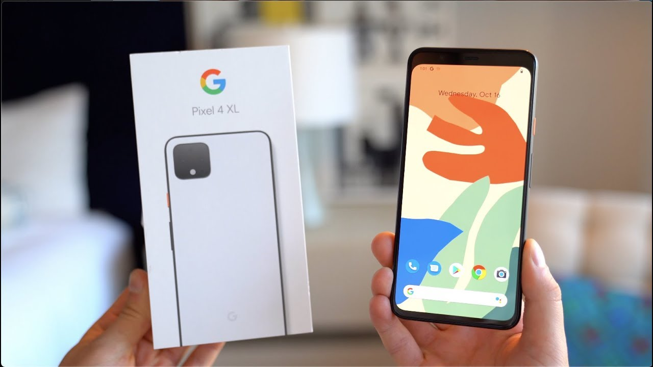 Google Pixel 4 XL Setup and First Look