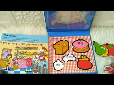 Let's Pretend - Play Shop (With Board Book and Puzzle Pieces)