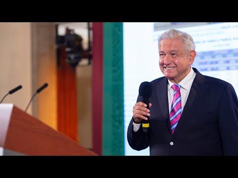 Conferencia de prensa en vivo, desde Palacio Nacional. Jueves 8 de julio 2021   Presidente AMLO