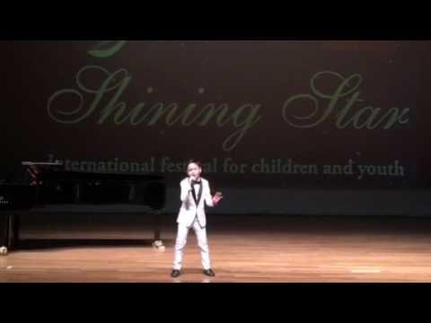 Korn Danviboon Singing Contest in Shining Star Festival Istanbul Turkey
