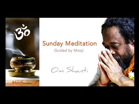 There is only Awareness - A guided Meditation with Mooji.