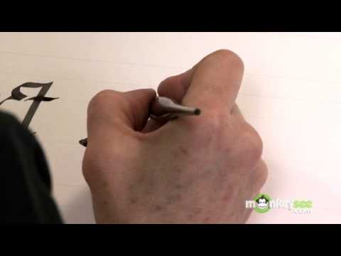 Calligraphy Flourishes Part 1