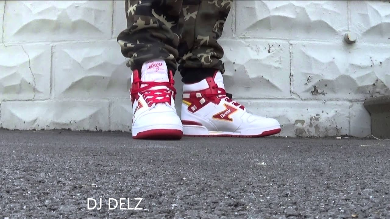 Hakeem Olajuwon x Etonic Akeem The Dream Sneaker Review + In Foot With Dj  Delz 4f0b3421970c