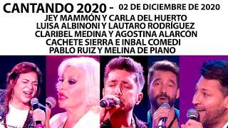 Cantando 2020 - Programa 2/12/20 - 5 parejas, 5 estilos para interpretar #MúsicaDePelícula
