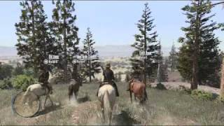 Red Dead Redemption Gameplay Multiplayer Free-Roam