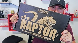 Unboxing Alpha Outpost Raptor Subscription Box