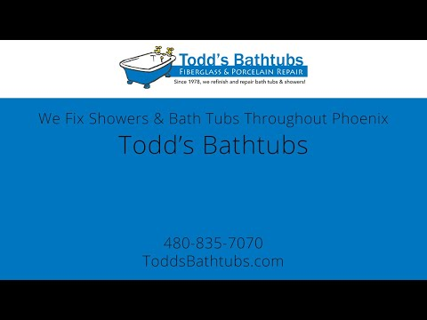 Since 1978, Todd's fixes bath tubs & showers throughout the Phoenix area!
