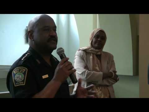 The first Somali Youth and Boston Police Dialogue