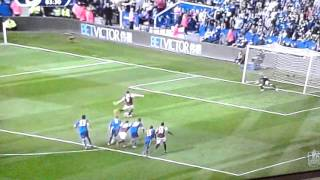 Carroll penalty goal vs Leicester