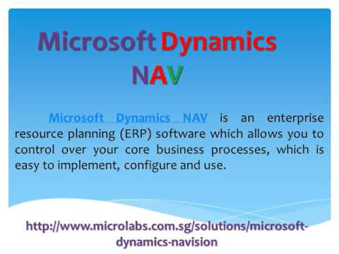 Enterprise Resource Planning Solutions - Microlabs
