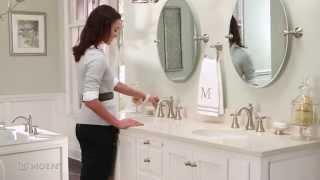 wynford widespread bathroom faucet moen features spotlight