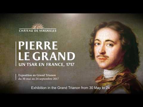 Pierre le Grand, un tsar en France. 1717