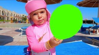 Balloon Song | Kids Songs | Nursery Rhymes | Kids pretend play mixing slimes | Anabella Show