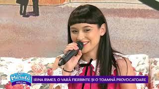 Irina Rimes povesteste despre emotiile traite la Vocea Romaniei