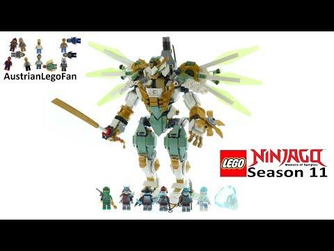 Lego Ninjago 70676 Lloyd´s Titan Mech Speed Build