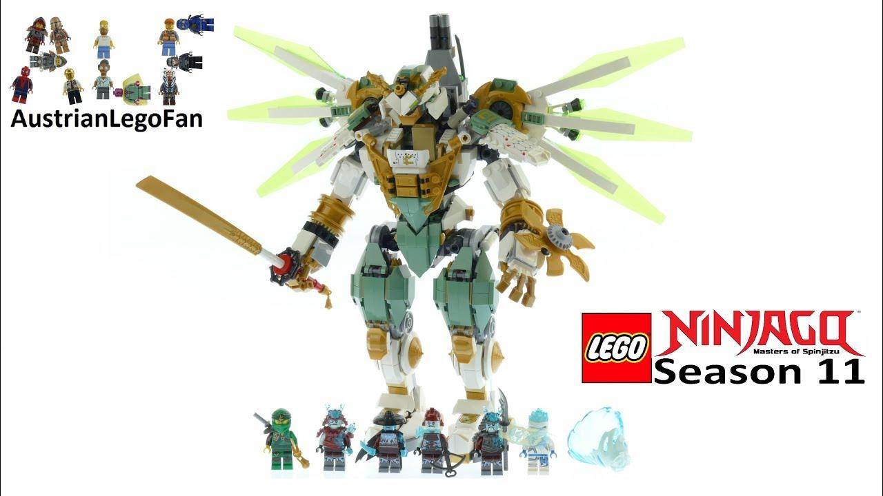 Lego Ninjago 70676 Lloyd S Titan Mech Speed Build Youtube