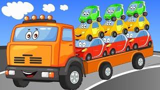 Машинки Для Детей - Скорая Помощь и Биби - Сборник Про Город Машинок