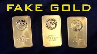 How To Avoid Buying Fake Gold Bars