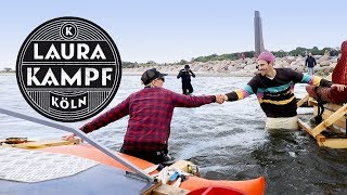 The Raft Race with Fynn Kliemann (Kliemannsland VS Habu and me)