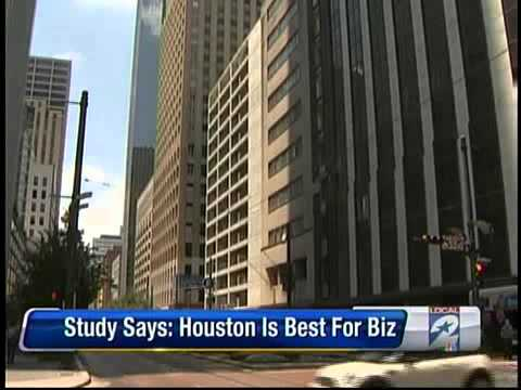 """""""#1 City in the World"""" Houston is Best For Business 2011 - GHP 