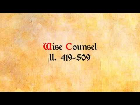 """7 - Wise Counsel (Reading Layamon's """"Brut"""": ll. 419-509)"""
