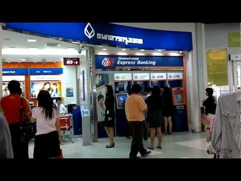 Bangkok Travel Tips Banks and ATM Machines