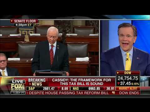 Cassidy to Fox Business' David Asman: Pelosi's attacks on tax cuts will prove untrue