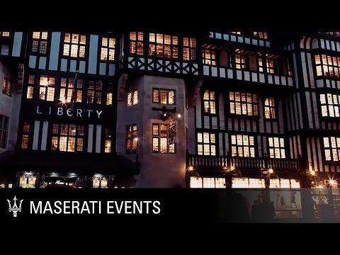Maserati at Liberty London