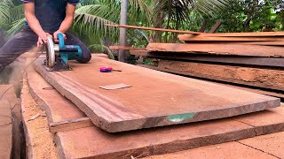 Incredible Skills & Techniques Woodworking Young Workers // Install Extremely Fast Wooden Stair