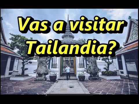 Vas a visitar Tailandia?
