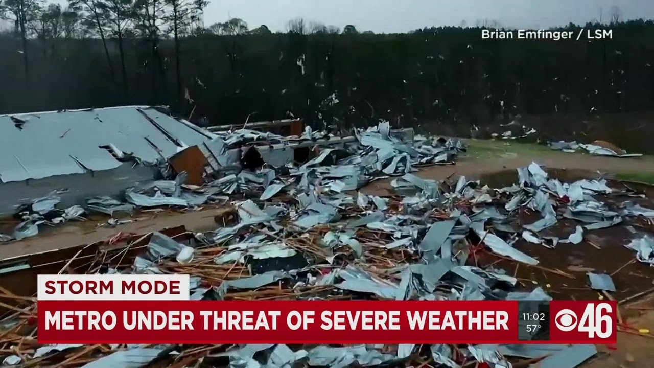 Metro Atlanta braces for more severe storms after 1 killed in ...