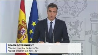 Spain's king names no premier candidate, opening way to new elections