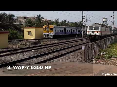 Top 10 Train Engines in India   