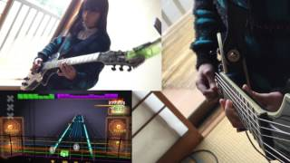 Here is Audrey (13) and Kate (8) playing Rocksmith - My Immortal - ...