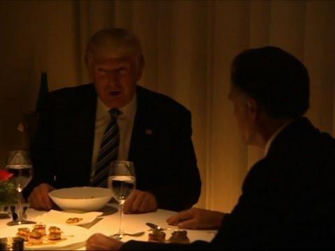 Raw: Trump, Mitt Romney Dine in Manhattan