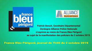 France Bleu Périgord, journal de 7h50 du 2 octobre 2019